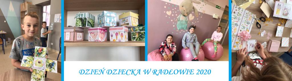 Obraz przedstawia Dzień Dziecka w Radłowie.